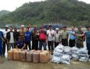 WartaKepri - Bantuan Ikan Dan Solar Dari Kapal Pukat Asal Medan Untuk Anambas