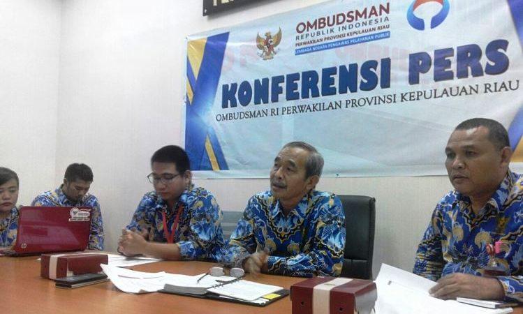 Kepala Perwakilan ORI Kepri, H Yusron Roni