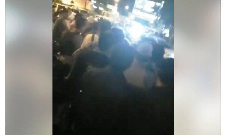 Wartakepri, Demo Taxi online di BCS Mall karena tidak terima rekan kerja cewek diberlakuakn sweeping