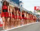 grid girl Formula one