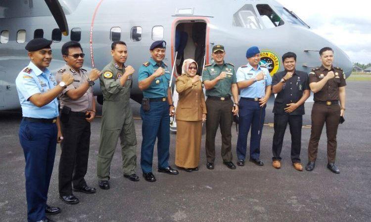 WARTAKEPRI, Petinggi TNI Natuna, Wakil Bupati Natuna.