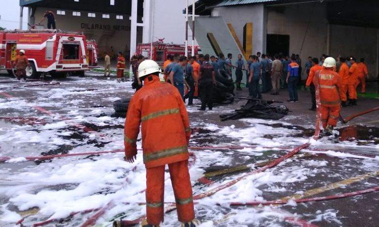 Wartakepri, Kebakaran di Lanudal Tanjungpinang