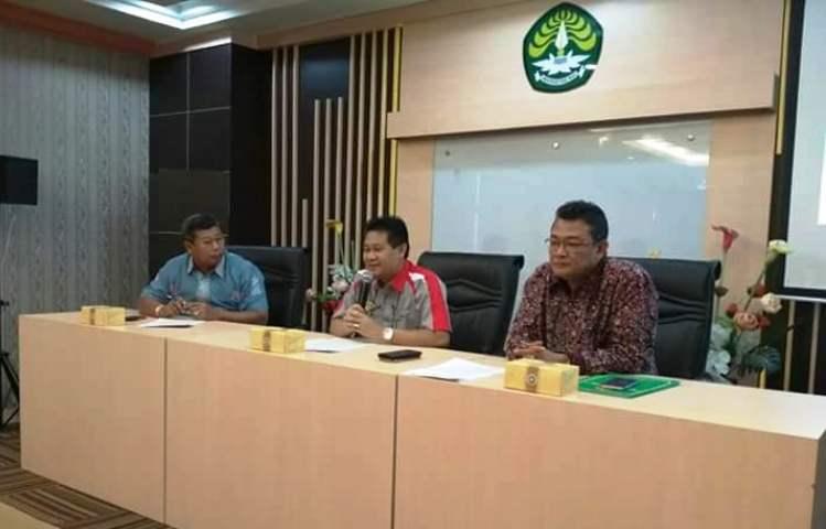 Wartakepri, ABDUL HARIS,SH menghadiri audiensi tentang kerjasama kemitraan kedokteran (s1) di Gedung Rektorat UNRI PEKANBARU.