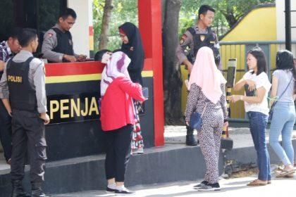 Wartakepri, Pengamanan di Mapolresta Barelang