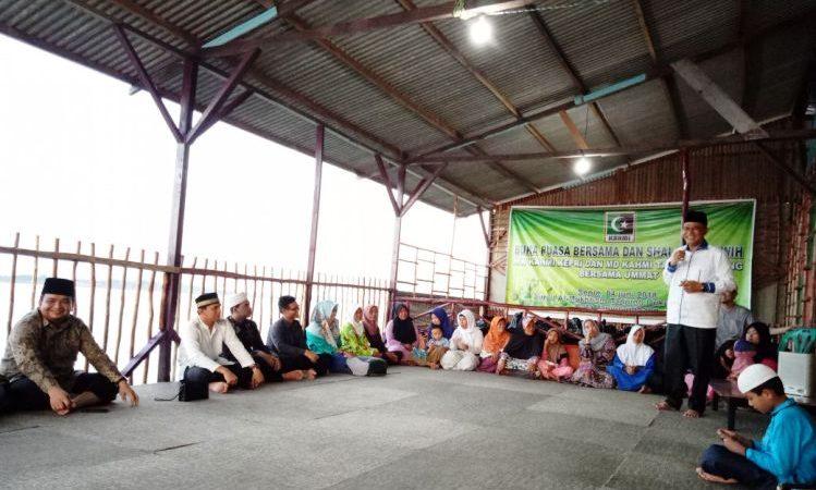Wartakepri, KAHMI Kepri Berbuka Puasa Dengan Masyarakat Tanjung Duku Dompak