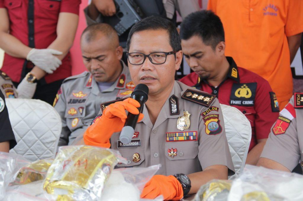 Polres Bintan Berhasil Ungkap Jaringan Sabu Antar Provinsi dengan BB Seberat 119 Kg